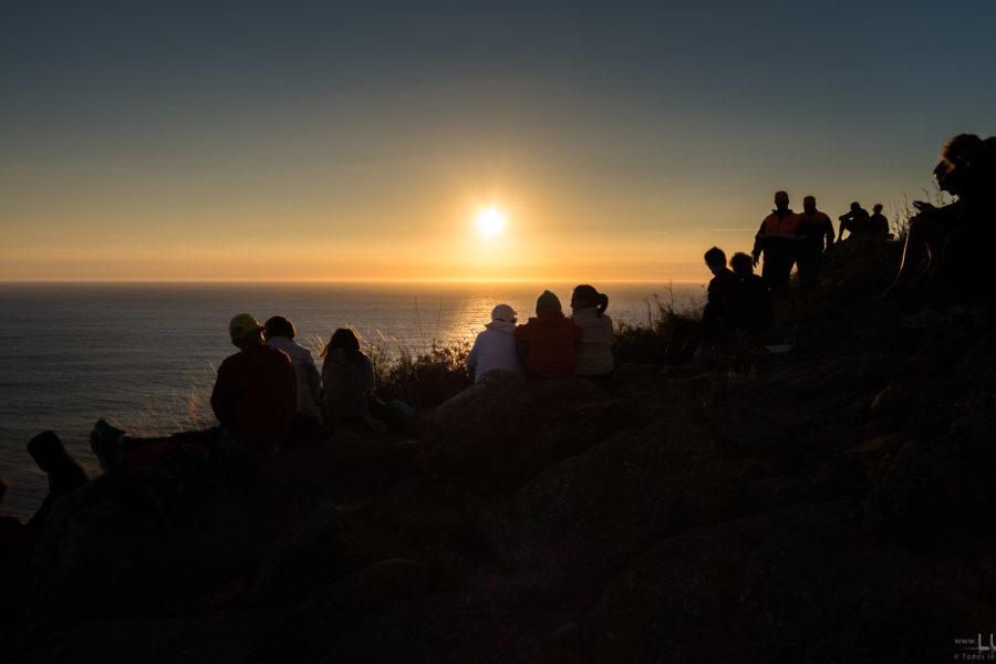 A costa do solpor europea: unha irmandade atlántica definida astronómicamente